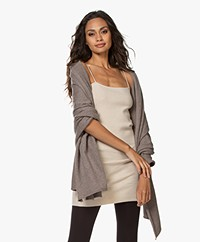 extreme cashmere N°60 Grote Cashmere Sjaal - Tree