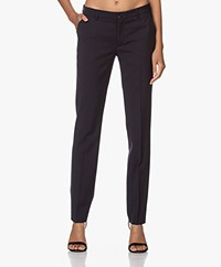 Filippa K Luisa Cool Wool Pants - Dark Navy