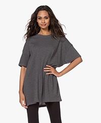 American Vintage Sonoma Oversized T-shirt - Greyish Melange