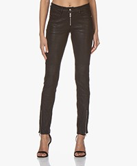 Zadig & Voltaire Phlamo Skinny Leather Pants - Black
