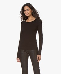 Organic Basics Organic Cotton Long Sleeve - Black
