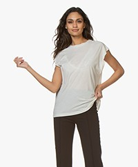 IRO Power Lyocell T-shirt - Dirty White