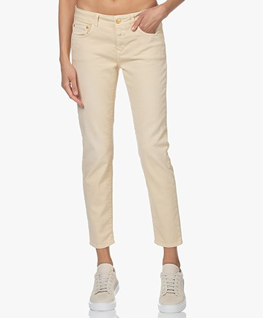 Closed Baker Mid-rise Slim-fit Jeans - Cashew Nut