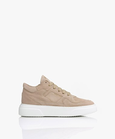 Copenhagen Studios Mid-top Suede Leather Sneakers - Nature