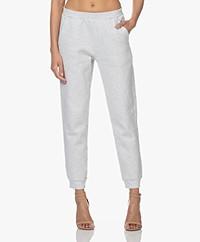 American Vintage Baetown Sweatpants -Light Grey Melange
