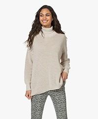 Sibin/Linnebjerg Ellie Merino Blend Turtleneck Sweater - Kit