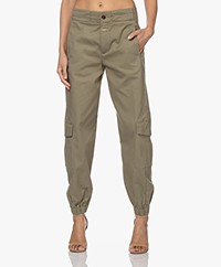 Closed Erin Utility Organic Cotton Pants - Green Umber