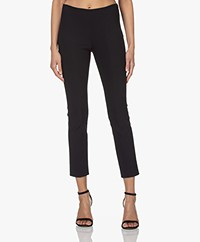 Vince Stitch Front Seam Slim-fit Stretch Broek - Coast Blue