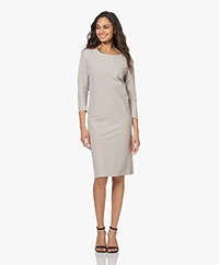 JapanTKY Pabel Travel Jersey Dress - Sand