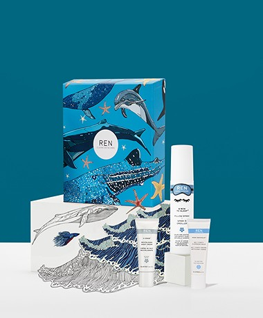 REN Clean Skincare Beauty Sleep Booster Trio - Gift Set