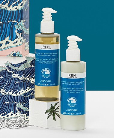 REN Clean Skincare Hand Care Duo in 200ml - Atlantic Kelp