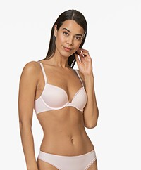 Calvin Klein Liquid Touch Push-up Plunge Bra - Nymph's Thigh
