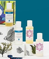 REN Clean Skincare Mini Body Kit - Moroccan Rose & Atlantic Kelp