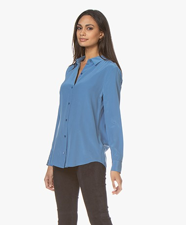 Equipment Essential Silk Blouse - Riverside