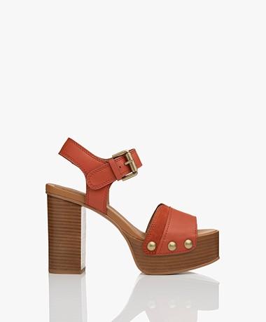See By Chloé Capurso Platform Sandals  - Rustico