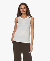 Filippa K Soft Sport Tencel Muscle Tank - Egg Shell
