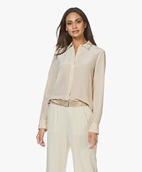 Filippa K Classic Silk Shirt - Ecru