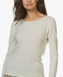 Belluna Blue Jay Cashmere Sweater - Latte