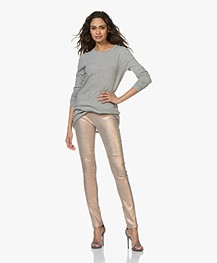 Mes Demoiselles Esther Leren Legging - Roze