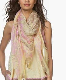 Zadig & Voltaire Kerry Garden Sjaal - Mais