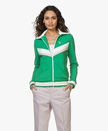 La Petite Française Suzette Sweat Cardigan - Green