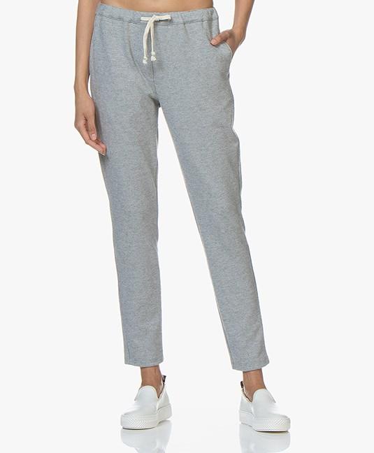 American Vintage Feelgood Sweatpants - Grey Melange