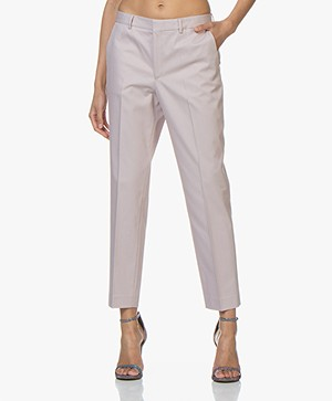 Filippa K Emma Cotton Blend Twill Pants - Frosty Pink