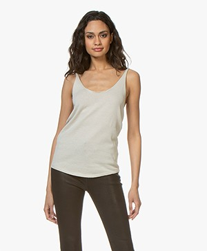 IRO Easy Cotton Knitted Top - Beige