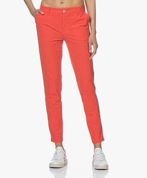 Josephine & Co Rowena Travel Jersey Pants - Red