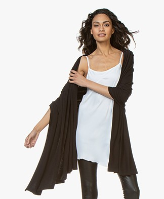 BRAEZ Soft Jersey Sjaal - Zwart
