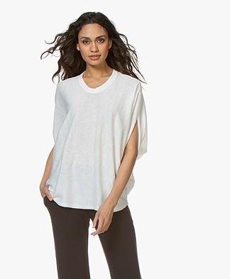 JapanTKY Dyna Silk Blend Pullover - White
