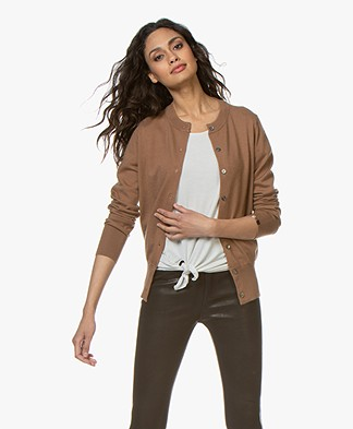 extreme cashmere N°94 Little Cardi Cardigan - Tan