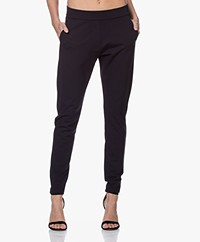 Woman by Earn Bobby Ponte Jersey Broek - Navy