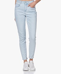 Drykorn Wet Slim-fit Jeans - Light Blue
