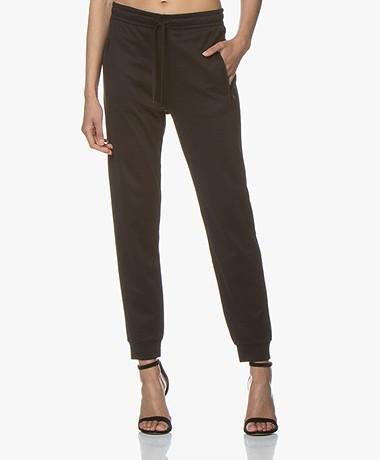 Filippa K Soft Sport Shiny Track Pants - Black