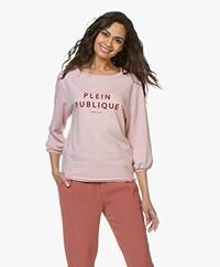 Plein Publique La Bisou Logo Sweatshirt - Rose