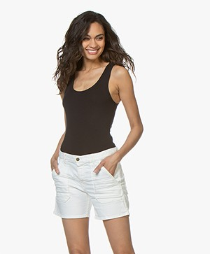 Rag & Bone The Tank Bodysuit - Zwart