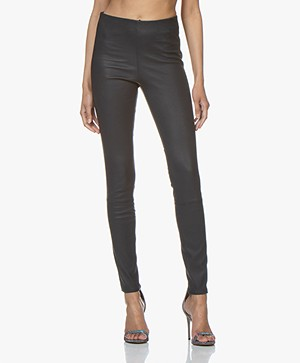 By Malene Birger Elenasoo Leren Legging - Night Sky