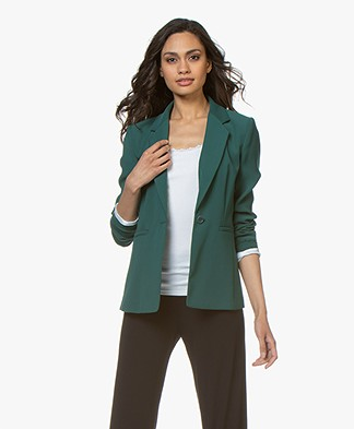 Drykorn Golders Tailored Blazer - Dark Green