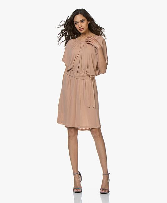 e61b6b5f73b Home; »; dresses; »; straight · Vanessa Bruno. Dress Nude Loubna Crepe  Jersey