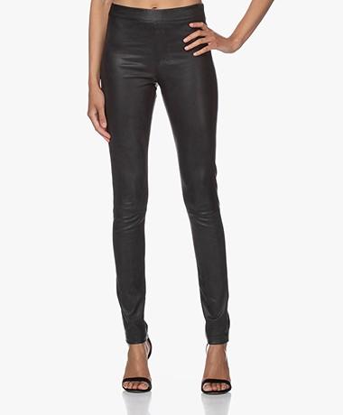 ba&sh Quartz Leather Pants - Black