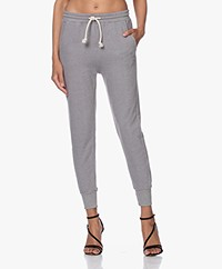 American Vintage Eliotim French Terry Sweatpants - Heather Grey