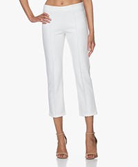By Malene Birger Viggie Bonded Jersey Broek - Soft White