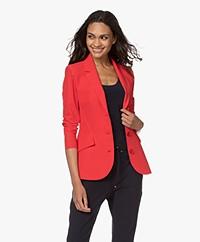 JapanTKY Dannot Travel Jersey Blazer - Japanese Red