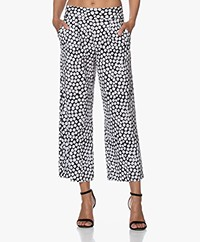 JapanTKY Kona Travel Jersey Printed Culottes - New Dot