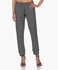 American Vintage Pomitree French Terry Sweatpants - Charcoal Melange