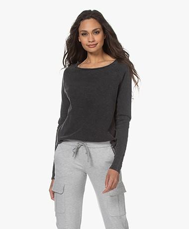 American Vintage Sonoma Slub Sweatshirt - Vintage Black