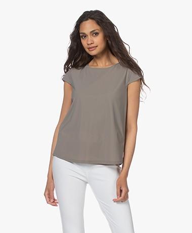 no man's land Tech Jersey T-shirt - Sage