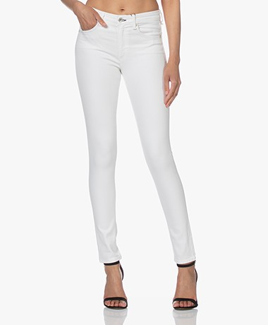 Rag & Bone Cate Mid-Rise Skinny Jeans - Wit