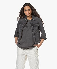 Zadig & Voltaire Kioky Denim Jacket - Anthracite